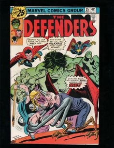 THE DEFENDERS #35 HULK, SUB-MARINER, DOCTOR STRANGE, MARVEL COMICS (NICE COPY)