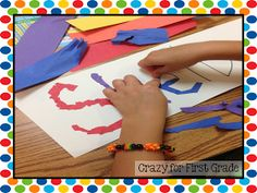 Crazy for First Grade: Rewind.... The First Week of First Grade!!!