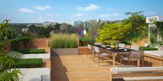 Projet Garches Toit Terrasse - Toit Terrasse - Alex Decret - Architecte-Paysagiste - AD Concept Gardens