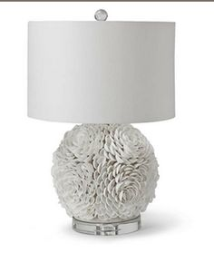 "Love at first sight!  Simple elegance with seashore style, The Mosaic Seashell Sphere Lamp measures 14"" Dia x 22.5""H.  The lamp takes one Type A bulb with maximum wattage of 150 and features a three-way switch.  A simple white shade graces this gem of the sea.This item is not returnable, except in the unlikely event of defect or damage."