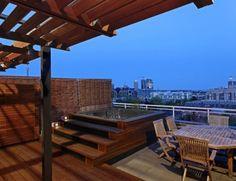 modern patio by Wanda Ely Architect Inc.