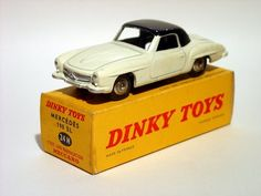 Dinky Toys 24H - Mercedes 190 SL