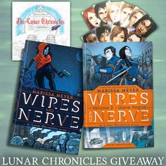Marissa Meyer Lunar Chronicles Giveaway