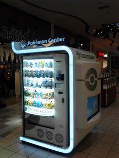 Pokemon center in Japan