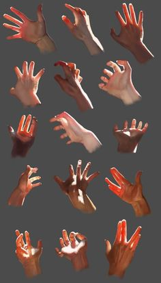 drawing art people hands finger hand human Anatomy digital fingers reference tutorial lighting Shading references