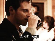 Image result for pride andrew scott im gay gif