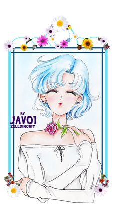 Ami Mizuno - Sailor Mercury by zelldinchit.deviantart.com on @deviantART