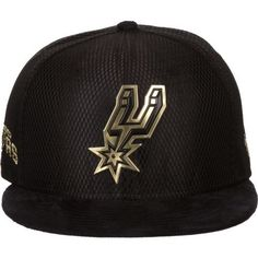 New Era Men s San Antonio Spurs 9FIFTY On Court Snapback Cap 95d09b568