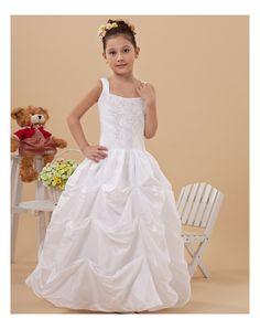 f6bb1f297373 ... Abito Da Cerimonia Bambina di Viola Scura in Ventita Online. See more.  Discount Ball Gown Pick-Up Wide Straps Skirt Taffeta Full Length Long First  ...