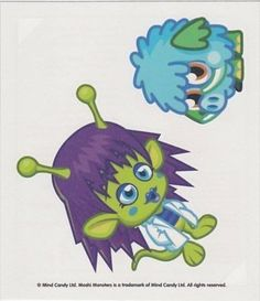 Topps Moshi Monsters Children's Temporary Tattoos - Series 2 - Set No. 05 by Topps. $2.98. 36 different sets to collect. Get the tattoos you want by buying the exact sheet. Temporary Tattoos for ages 4+. There are 36 different tattoo sets to collect. Avoid buying duplicates by selecting the exact set you want and get your fav Moshlings now.