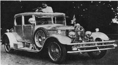 A 1925 Rolls Royce Twenty Hunting Saloon by Wylder , chassisnr. GPK33, supplied to  H.H. The Maharaja of Bharatpur In April l926.   The body was polished aluminium throughout and the petrol tank, frame, etc. were painted aluminium.  The body cost was £600 and no front wheel brakes were specified on the order.