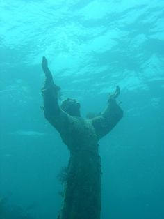Florida Keys: Christ of the Abyss in the Florida Keys Live a dream!