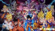 Goku Vs Frieza, Lord Frieza, Ultimate Fight, Fan Art, Anime, Painting, Image, Painting Art, Cartoon Movies