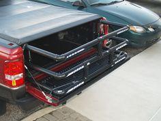DIY PVC truck bed extender