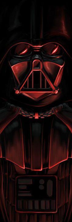 Star Wars: Darth Vader by David Joyce Star Wars Fan Art, Star Wars Love, Star War 3, Star Wars Sith, Star Wars Rebels, Clone Wars, Star Trek, Images Star Wars, Star Wars Pictures