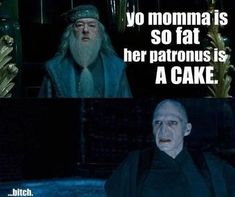 your patronus is a cake