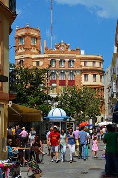 Plaza de las Flores de Cádiz