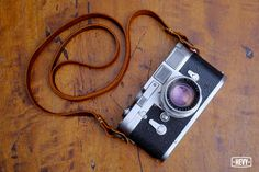 Rustic Brown Leather Strap for Mirrorless Camera (sony nex, fuji, olympus) #Hevy