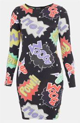 Topshop Comic Book Print Body-Con Dress yup I think I need this