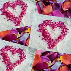 100 Ideas for Beach Wedding!  Just look how stunning Flyboy Naturals Rose Petals look on the sand at this beachy wedding. We offer over 100 colors...which will you choose? #beach #beachwedding #rosepetals #petals  #weddingpetals #love www.flyboynaturals.com Beach Wedding Inspiration, Rose Petals, Board, Colors, Ideas, Colour, Thoughts, Color, Planks