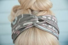 twisty headband