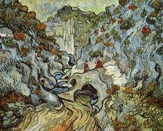 The Ravine Of The Peyroulets 1889  Vincent van Gogh