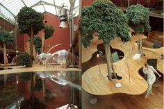 jardin au travail -  ancin atelier parisien -place stalingrad -Pons et Huot