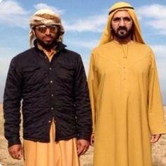 HH Sheikh Mohammed Bin Rashid Almaktoum & Nasser BelJafla on falconry hunting trip in Uzbekistan....nasserbeljafla