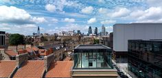 A mixed-use development in Whitechapel, east London which comprises an office, gallery space and two residential units.