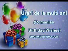 Frumos La mulți ani Urari, Mesaje și Imagini pentru familie, Lover & Prieteni - 2HappyBirthday Rome