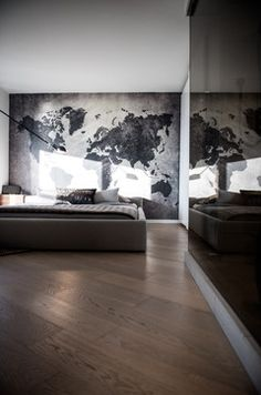 Una pared así <3 West 2nd Street, North Vancouver modern bedroom