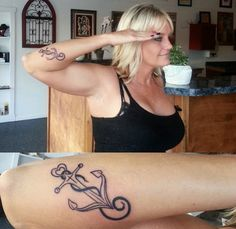 Love this Navy anchor on this sailor. What a beautiful tattoo! We salute you, too. http://thestir.cafemom.com/beauty_style/186717/10_inspiring_military_tattoos_for