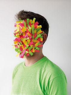 paper faces .... odd