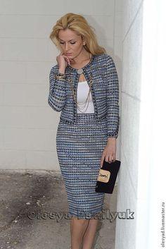 """костюм """"Вариации на тему Шанель"""" - костюм в стиле chanel,а-ля шанель,деловой стиль"""