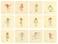 these illustrations month by month