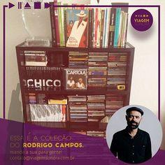 Quer ter uma estante cheia de CDs com boa música? Embarque nessa Viagem Sonora! #viagemsonoraclube #colecionadores #musiclovers