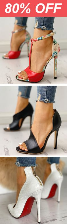 Shop Sexy Trending Shoes – Boutiquefeel offers the best women's fashion Shoes deals Online Shopping Shoes, Shoes Online, Hot Shoes, Sexy Heels, Beautiful Shoes, Just In Case, Me Too Shoes, Fashion Shoes, Shoe Boots