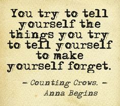 Counting Crows, Anna Begins