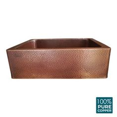 Laundry sink Wall monuntable bathroom enamel sink basin | Etsy White Kitchen Sink, Copper Kitchen, Bucket Sink, Stainless Steel Flanges, Caramel Brown, Apron Designs, Pure Copper, Vintage Farmhouse, Antique Copper