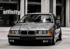 Non M BMW e36 sedan with such amazing stance