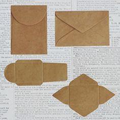 Origami envelope letters how to make ideasOrigami envelope letters, how to make ideas howto Small Maya Road DIY Kraft Envelopes; 2 types, for scrapbooks, cards, Small Maya Road DIY Kraft Envelopes; Diy Paper, Paper Art, Paper Crafts, Kraft Paper, Diy And Crafts, Arts And Crafts, Diy Envelope, Origami Envelope, Paper Envelopes