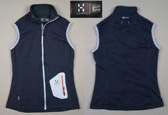Haglofs Bodywarmer Women Vest Waistcoat Jacket Size UK 10 EU 36 Polyamide