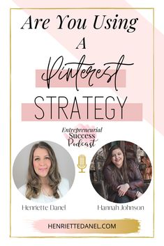 How are you getting viewers to your blog or your website? Without paid advertising, do you have an organic strategy that leads people to your blog or website on a continuous basis? If not, then you don't want to miss this podcast episode. Today I'm talking to Hannah Johnson about Pinterest. So, if you are not using a Pinterest Strategy to get viewers to your blog or website on a constant basis, you're missing out.