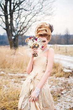 свадебная фотосессия в стиле Марии-Антуанетты