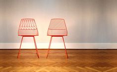 bend seating lucy and ethel chair #furniture #chair #bentsteel #steelrod #wire #bendgoods
