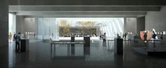 Gallery - Bauhaus Museum Finalist Acts as a Gate Between City and Park - 12