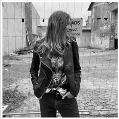 Introducing the new 'Seattle' Black Leather Jacket from @munderingskompagniet_mdk that we cannot get enough of 😍 Seattle Fashion, Spring Jackets, Leather Jackets, Biker, Shop Now, Black Leather, Parties, Pockets, Fiestas