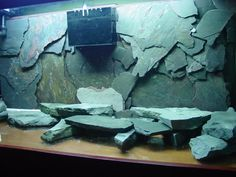 Turn Tiles into a 3D Fish Tank Background | Pinterest | Fish tanks ...