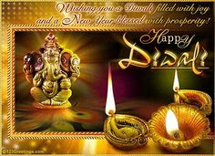 "Light a lamp of love! Blast a chain of sorrow! Shoot a rocket of prosperity! Fire a flowerpot of happiness! Wish you and your family ""SPARKLING DIWALI"".."