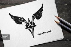 RecentGlance - Illustration, Logo Design